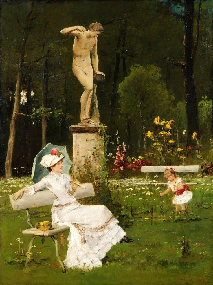 Mihaly Munkacsy (Hungarian, 1844-1900)