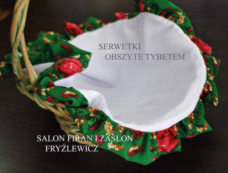 Firany Fryźlewicz: SERWETKA Z TYBETEM