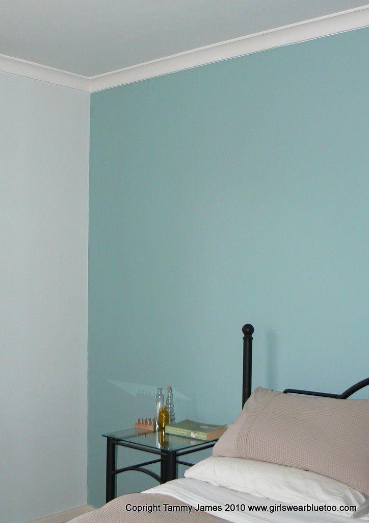 After Dulux Duck Egg Blue Bedroom In 2019 Blue