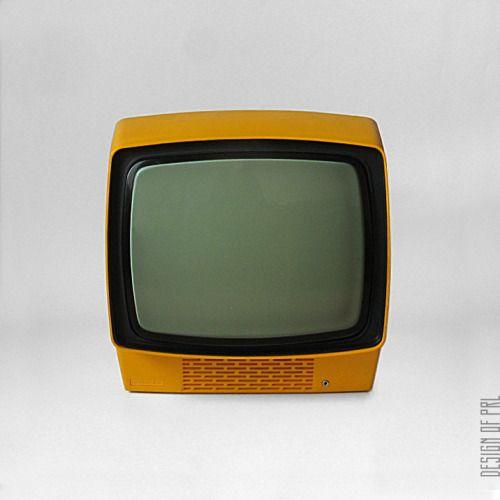1980, Unitra-Unimor, telewizor turystyczny Neptun 150, autor projektu: Tadeusz Iwanow.