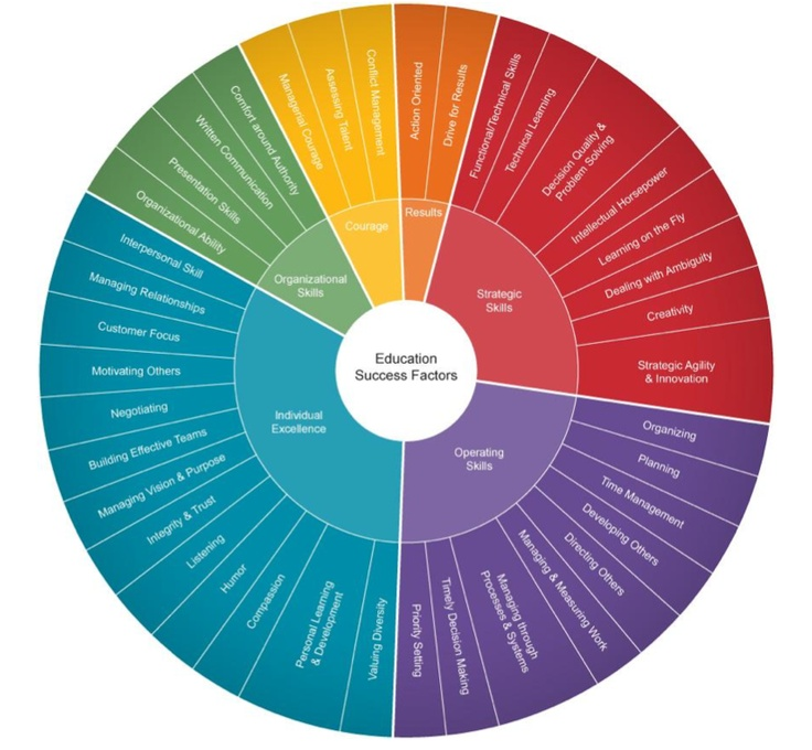Educational Competency Wheel