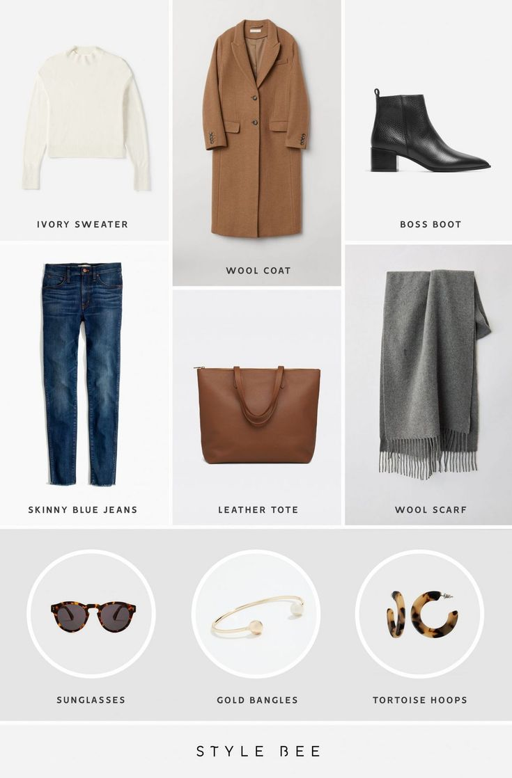 A DOZEN EASY OUTFITS FOR EARLY SPRING (Style Bee)