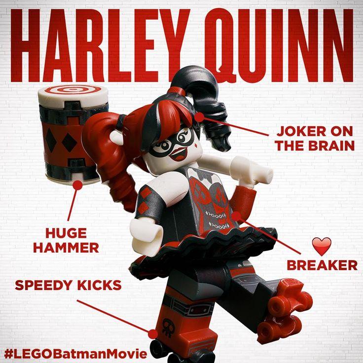 #LEGOBatmanMovie #HarleyQuinn's low key obsessed with #TheJoker. Well, maybe not that low key. #Batman #LEGOBatman #DCComics #SuperHeroes #EverythingIsAwesome #MashupMadness #CombineYourLEGO #UpgradeYourLEGO #BuildSomethingSuper #BuildSomethingBatman