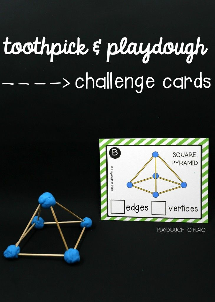 Toothpick STEM Structures - Playdough To Plato - this would be cool to recreate with gumdrops!