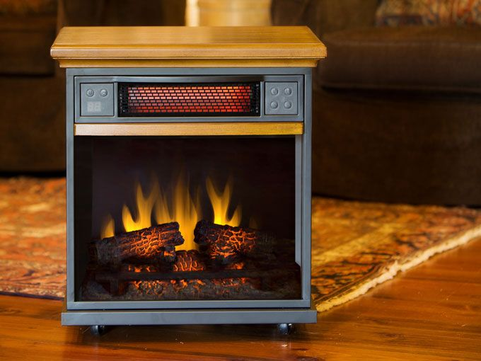 Duraflame 20if100gra O107 Portable Infrared Heater In Oak