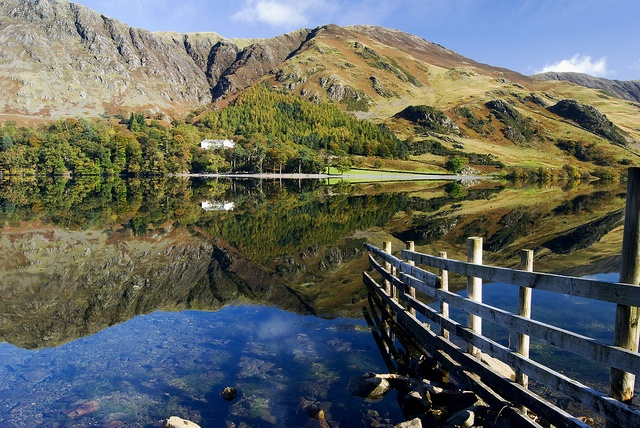 Buttermere Reflections by steve drummond, via Flickr