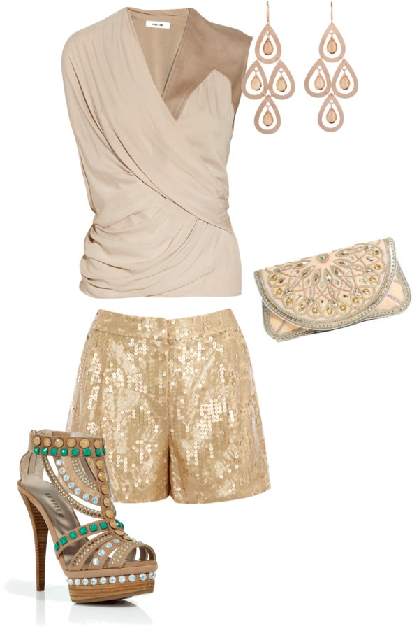 """""""neutral glamour"""" by sirryh on Polyvore: Neutral Glamour, Style Pinboard"""