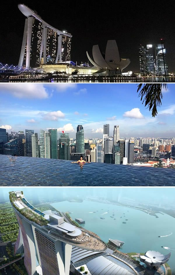 The Marina Bay Sands Hotel - Singapore