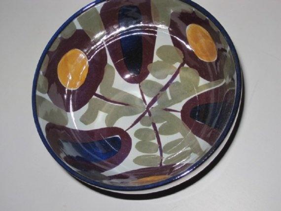 Royal Copenhagen fajance bowl by Kari Christensen. $45