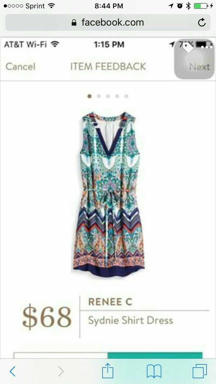 Renee C Sydnie shirt dress - Stylist - love the colors and pattern. Would be great in winter with leggings and a sweater!