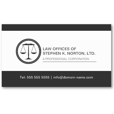 Attorney business cards templates geccetackletarts attorney business cards templates fbccfo Images