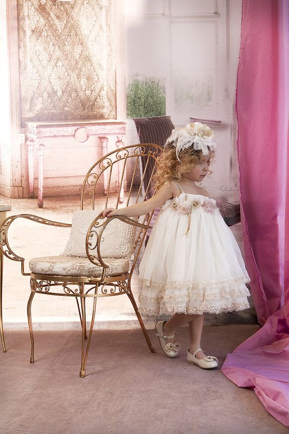 Christening Dress Christening Gown Silk by StyledByAlexandros