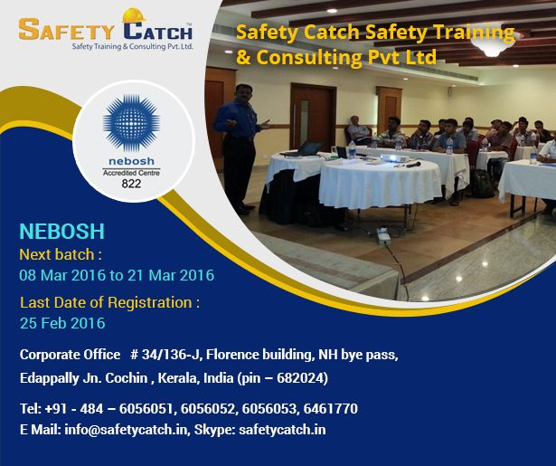 Looking to gain the most popular #safety qualification? The #NEBOSH #Training Program  from Safety Catch Training is just for you: http://bit.ly/NEBOSH_TrainingProgram