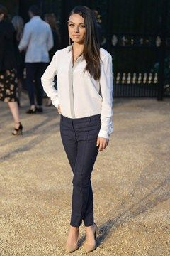 Mila Kunis | Burberry Celebrates London in Los Angeles, Griffith Observatory, April 16 2015