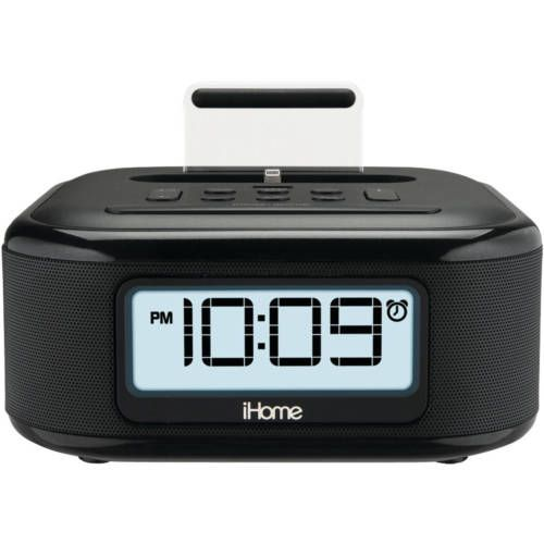 info for 0c28a 37f38 iHome IPL23B Stereo FM Clock Radio with Lightning Connector (eBay ...