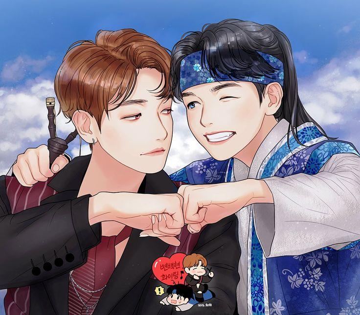 Get you a Baekhyun who can do both. Baekhyun from Lotto and Eun from Moon Lovers