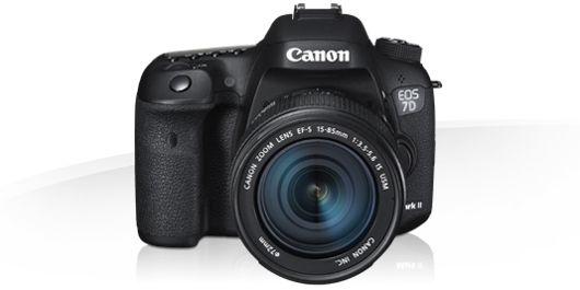 Canon EOS 7D Mark II -Dane techniczne - Cyfrowe aparaty z wymienną optyką - Canon Polska