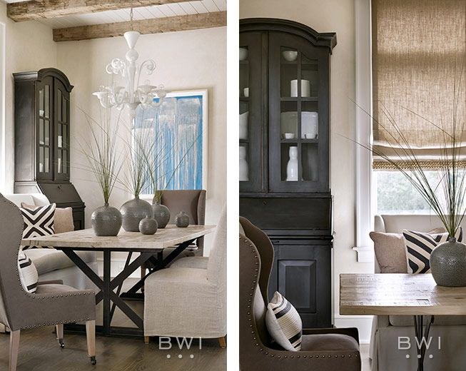 Interior Window Shutters With Fabric Inserts : ... interior shutters & fabric draping on Pinterest  The window, Shutters