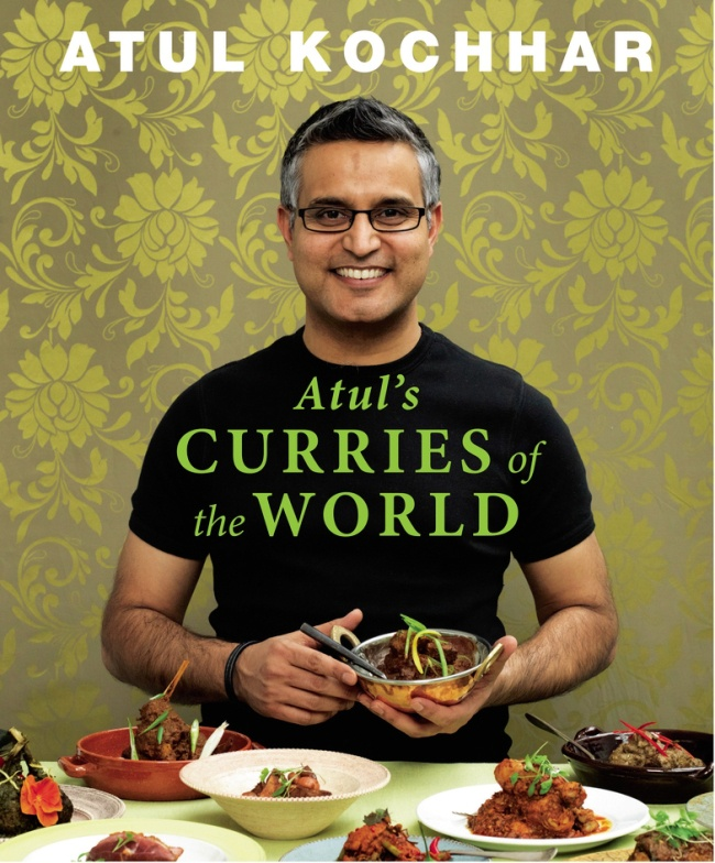 Atul's Curries of the World.  Chef Atul Kochhar has travelled all over the world to compile his book of curry recipes (Picture: Mike Cooper)