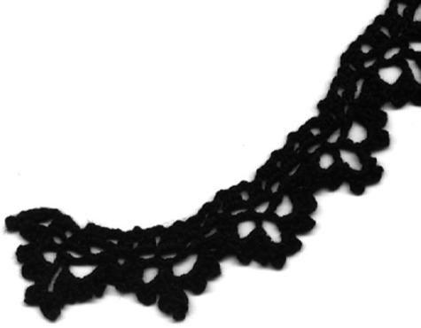 1920s Irish crochet lace edging pattern