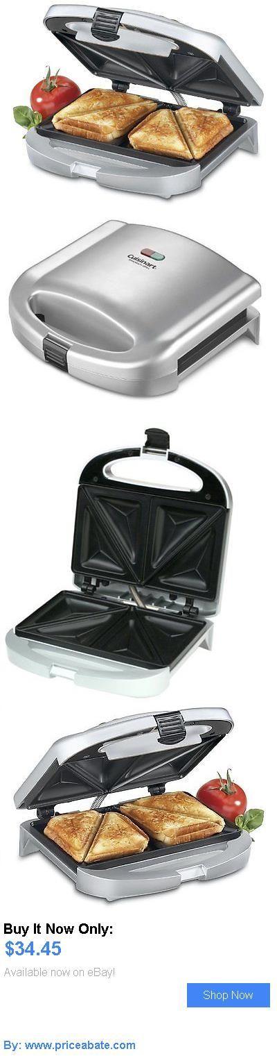 Small Kitchen Appliances: Dual Sandwich Maker Breakfast Cuisinart Kitchen New Grill Press Electric BUY IT NOW ONLY: $34.45 #priceabateSmallKitchenAppliances OR #priceabate