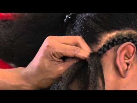 Tutorial on How To Braid Extensions - http://youtu.be/gPNH-hJWL8Y I WILL learn to do this on my own