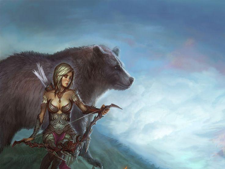 Wallpapers de mujeres guerreras hermosas y apasionadas