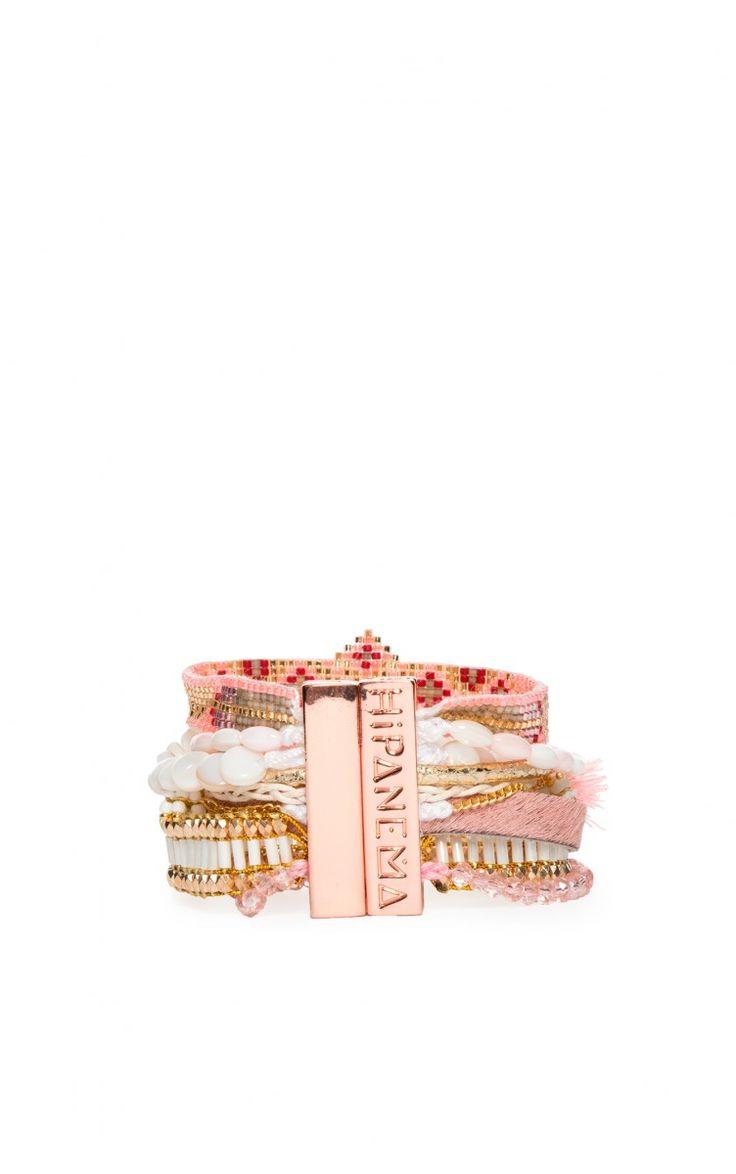 Armband Borabora PINK - pink summer ss15 - Raglady