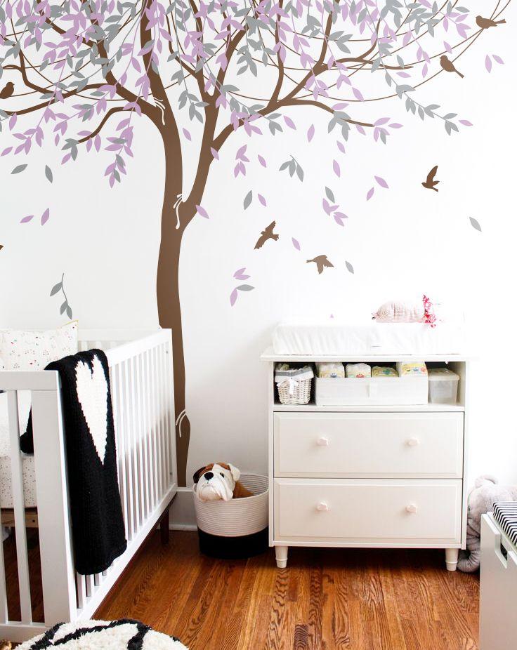 kid room wall sticker - big tree :) #kidroom #nursery #tree #sticker