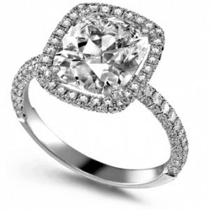 antique vintage - custom engagement rings