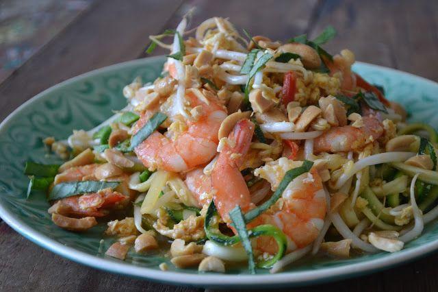 Mijn kookavonturen: Pad thai met courgette noedels