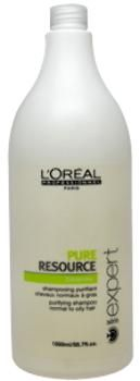 Unisex L'Oreal Professional Serie Expert Pure Resource Shampoo - 1 UNITS