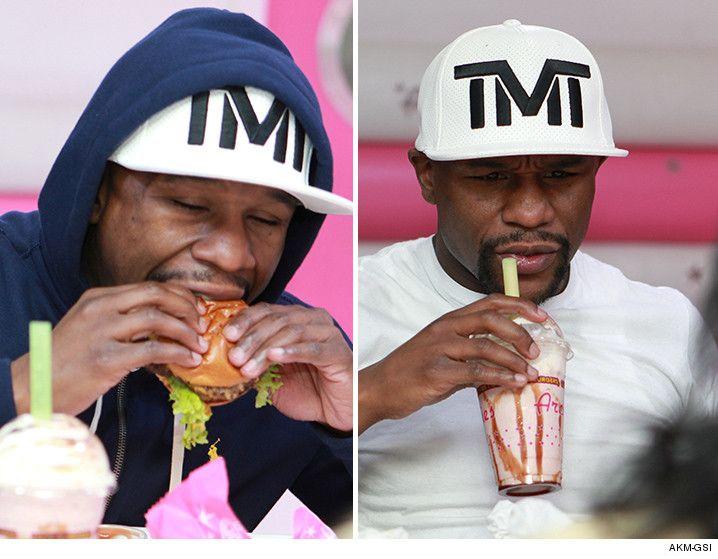Floyd Mayweather My Retirement Diet Burgers, Shakes, Waffles...: Floyd Mayweather My Retirement Diet Burgers, Shakes,… #FloydMayweather