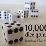 25 Family Games {Perfect for the amount of time you have to play!}