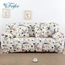 Stretch Elastic Sofa Cover Elasticity Flexible Printed Couch Loveseat Protetor Funiture Design Canape Sectional Armchair Covers(China)
