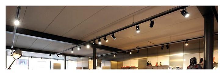 spot led sur rail d co spot luminaire eclairage led. Black Bedroom Furniture Sets. Home Design Ideas