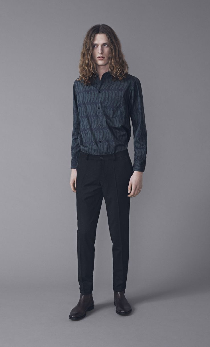 Keith Shirt and Presley Trousers | Samuji Man FW15 Collection