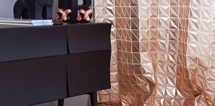 Création Baumann, design Eprisma Bronze . Se alle brands her: http://fischer-danmark.dk/produkter/gardiner/