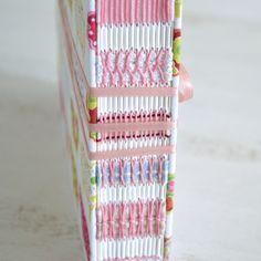 Spine Close up | Handmade album by Card Couture Creations