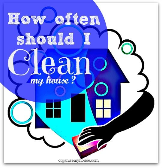 """Cleaning your home is a time consuming chore that never ends. Heres my top cleaning tips & advice to answer """"How often should I clean my house"""""""