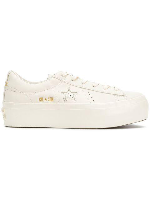 f759ce26d453 Shop Converse One Star platform sneakers.