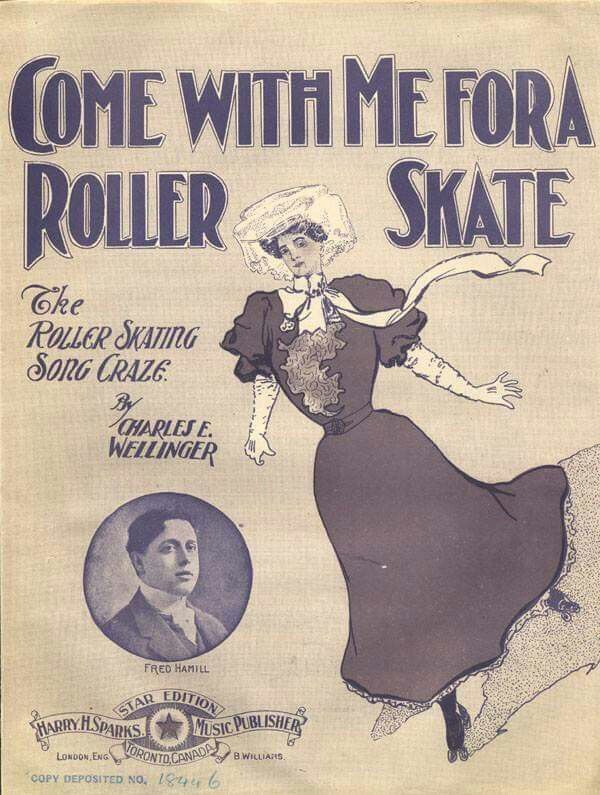 Come with me for a roller skate