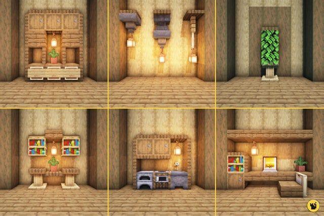Pin On Decoration Minecraft Interior Design Minecraft Designs Minecraft Houses