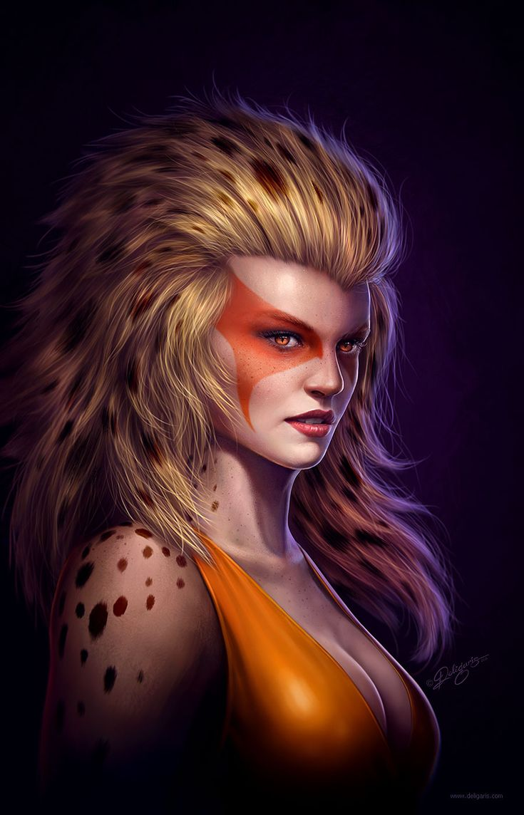 juanitopablo:  Cheetara - Fan art by Deligaris