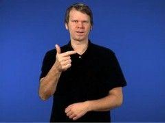 Ja tack - Teckenspråk
