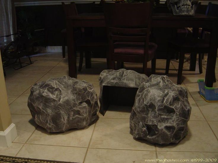 Cheap way to make rocks...