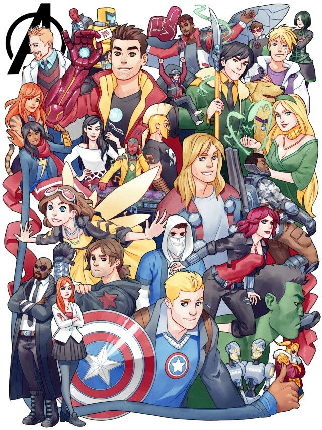 Avengers academy <<< I LOVE THIS GAME! I'M SO HAPPY RIGHT NOW