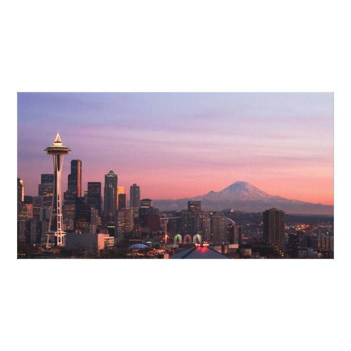 Customizable #Architecture #Building#Exterior #City #City#Life #Cityscape #Color#Image #Communications#Tower #Consumerproduct #Dusk #Horizontal #Illuminated #Modern #Mountain #No#People #Outdoors #Photography #Seattle #Sky #Skyscraper #Sunlight #Tower #Travel#Destinations #Usa #Washington#State Seattle from Kerry Park. Canvas Print available WorldWide on http://bit.ly/2hkwtyC