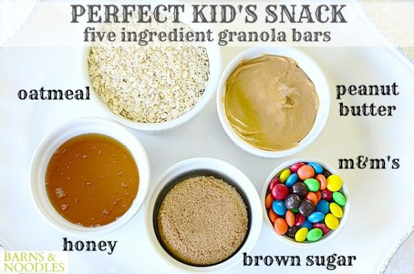 Easy Granola Bar Recipe for Kids is a great snack option around my house because it uses five ingredients I always have in my pantry and my sweeties love them.