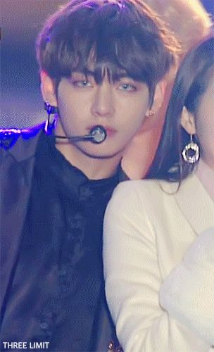 Blood Sweat & Tears concert || Wings || Kim Taehyung || V || gif || BTS